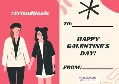 #Friend Goals card