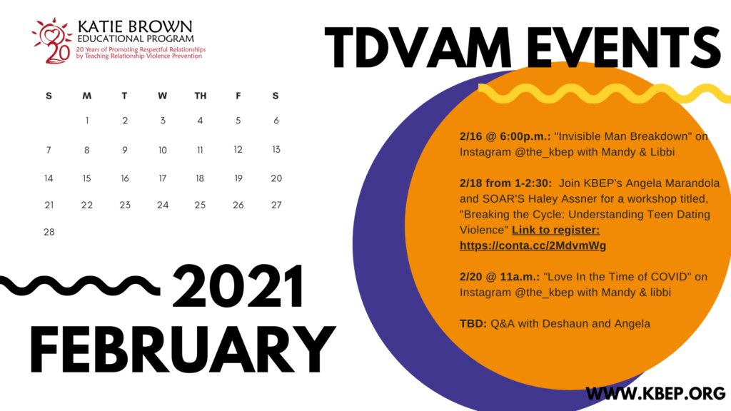 Event Calendar for TDVAM