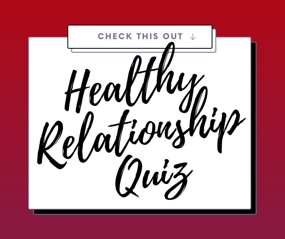 healthy relationship quiz graphics
